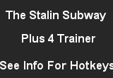 The Stalin Subway +4 Trainer 1.0
